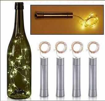 NV-Wijnfles tafellichtje