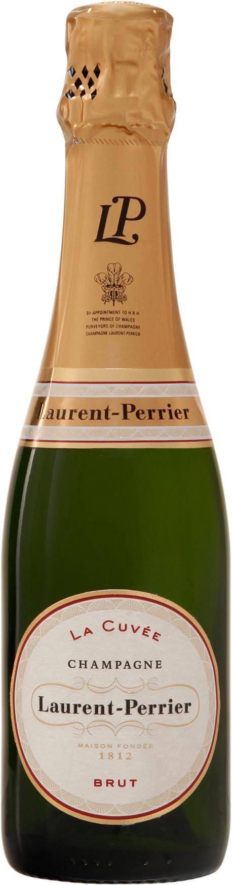 NV-Laurent-Perrier Champagne Brut Halve Fles