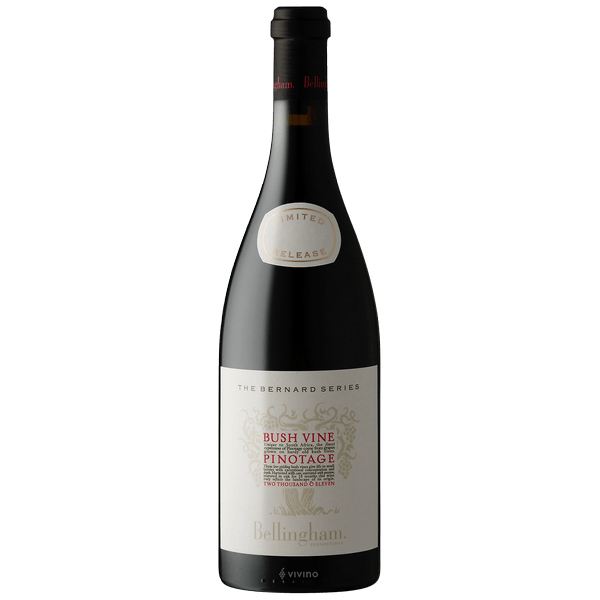 2015-Bellingham Bernard Bushvine Pinotage Red