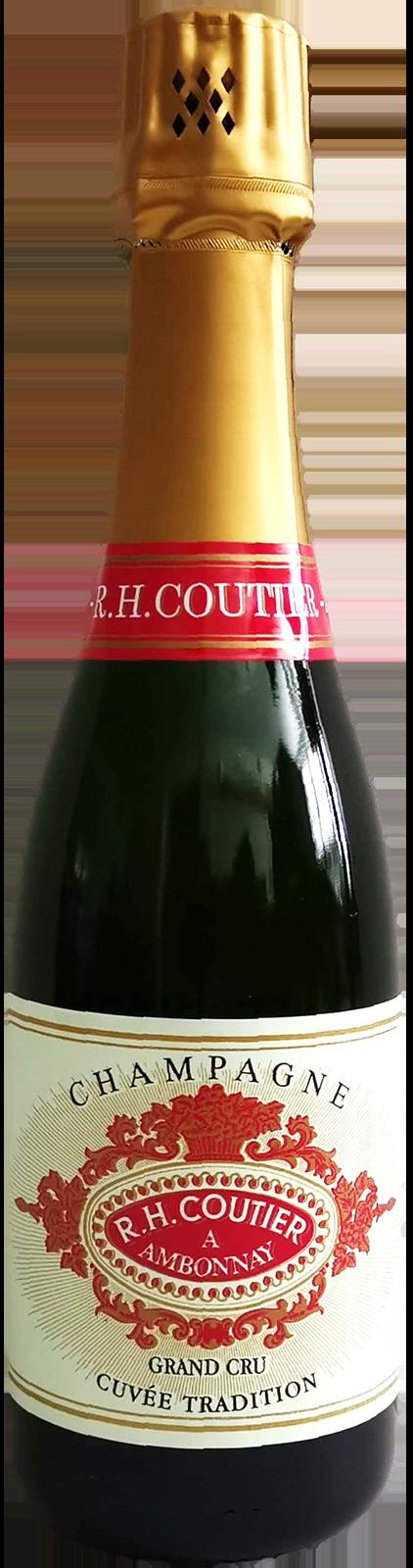 NV-Coutier Champagne Grand Cru Halve Fles