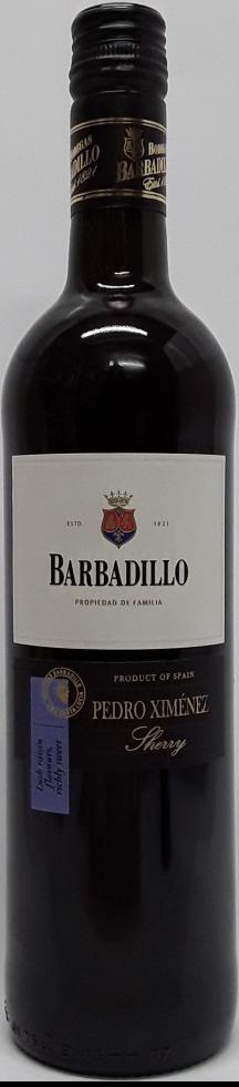 NV-Barbadillo Sherry Pedro Ximinez