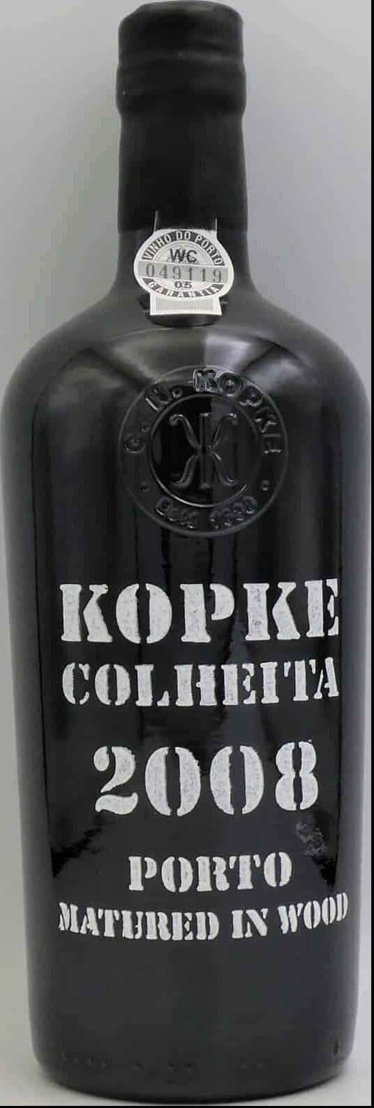 2008-Kopke Colheita Port