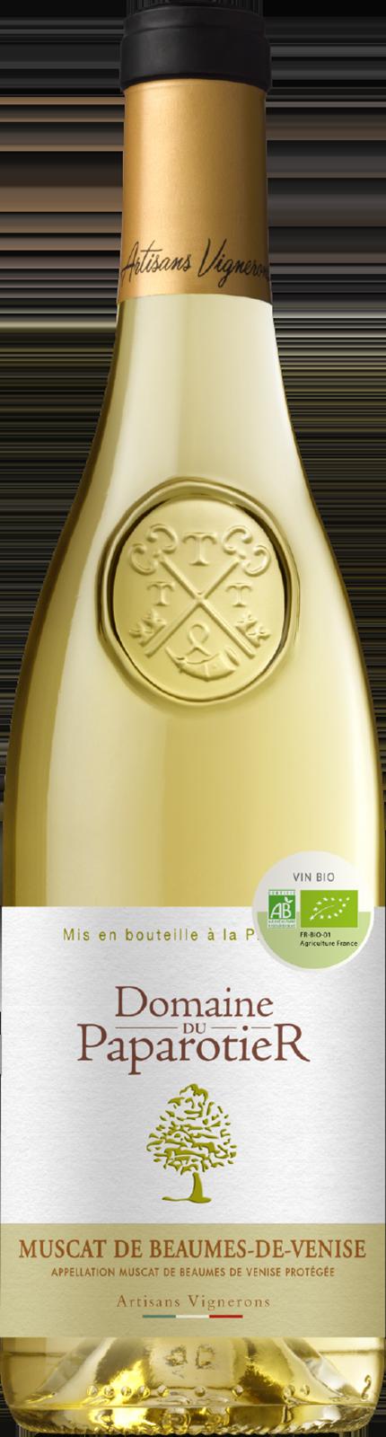 2015-Paparotier Muscat Beaumes de Venise Blanc