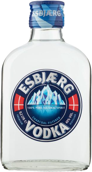 NV-Esbjaerg Vodka Zakflacon