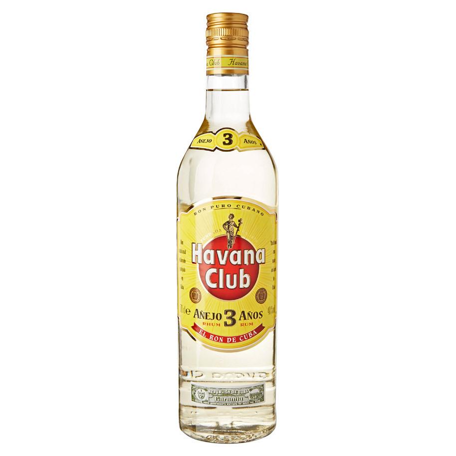 NV-Havanna Club Rum 3 Years