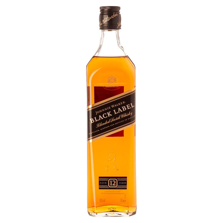 NV-Johnny Walker Blended Whisky Black Label