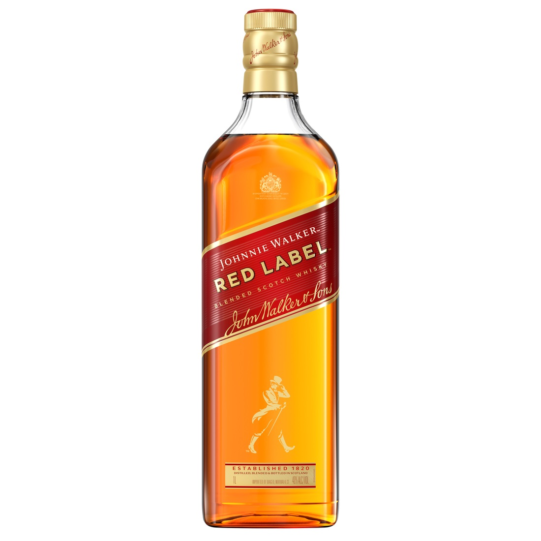 NV-Johnny Walker Blended Whisky Red Label Zakflacon