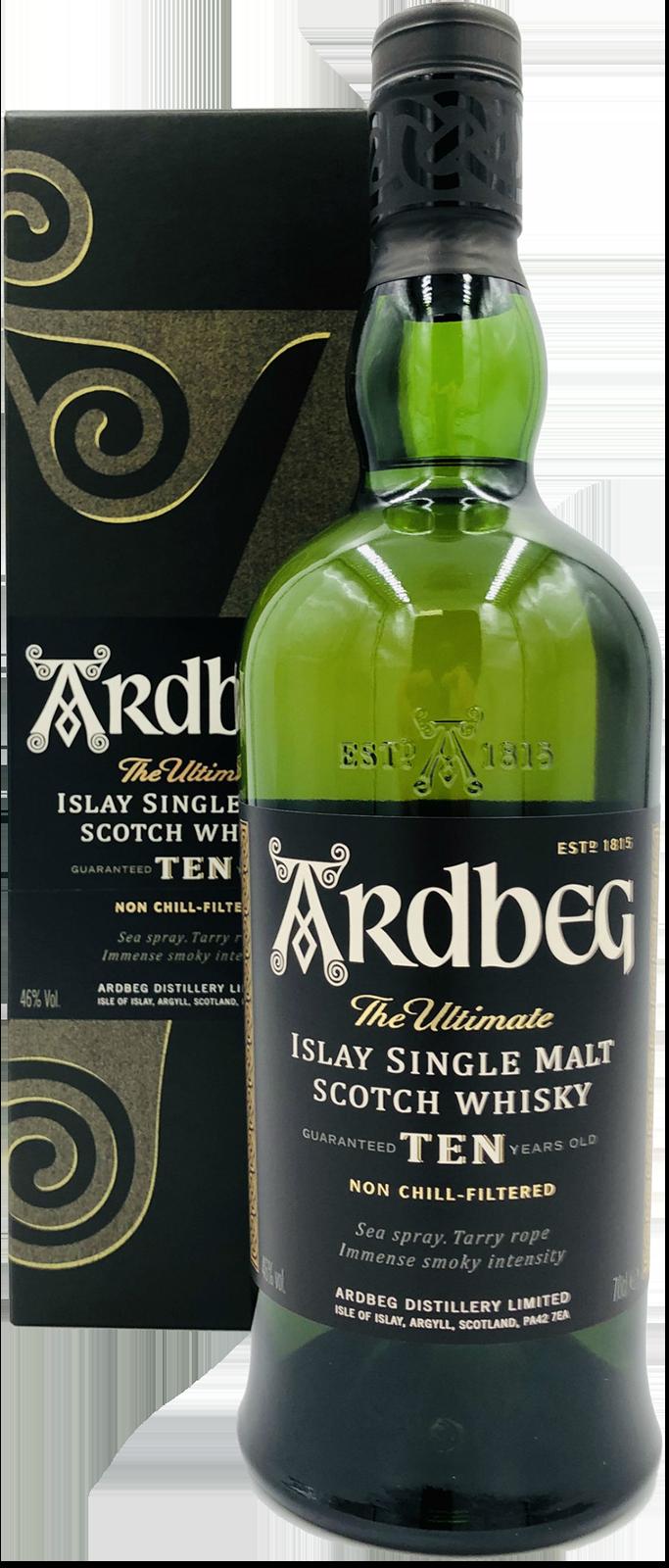 NV-Ardbeg Whisky 10 Years