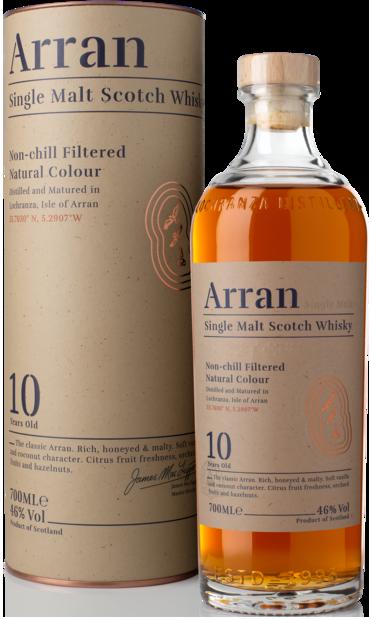 NV-Arran Whisky 10 Years