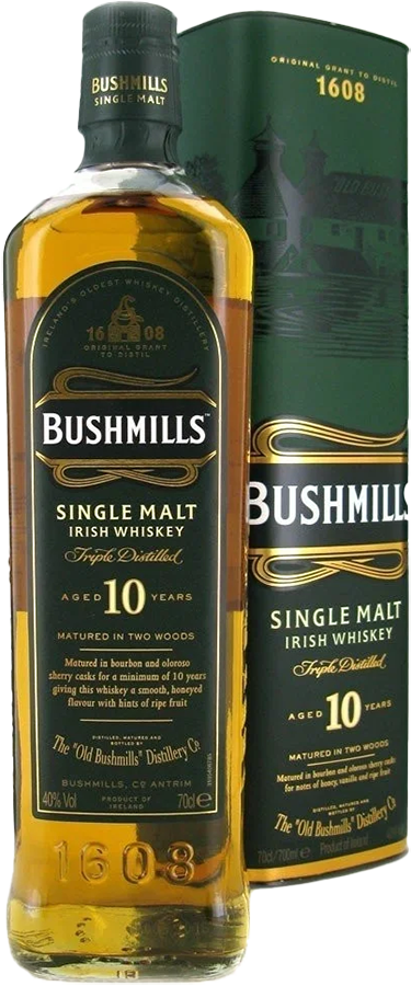 NV-Bushmills Whisky 10 years