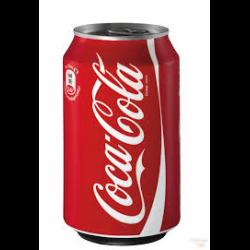 NV-Coca Cola Regular Blik 0,33 cl (los)