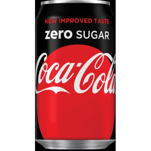 NV-Coca Cola Zero Blik 0,33 cl (los)