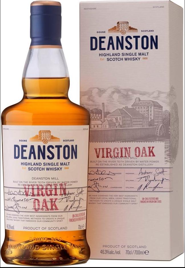 NV-Deanston Whisky Virgin Oak