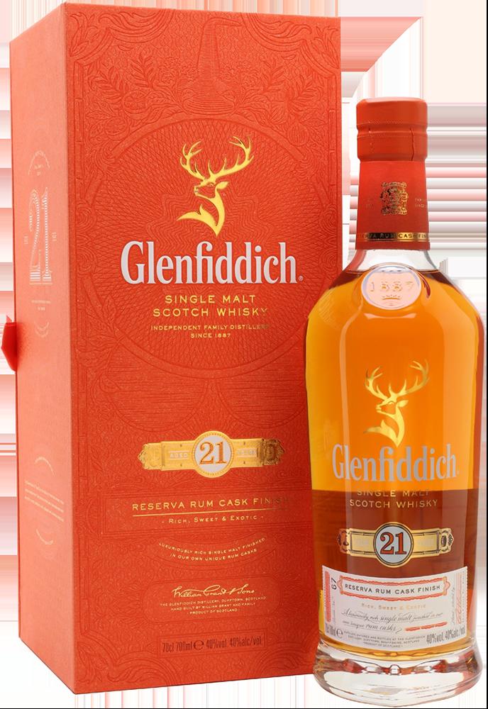 NV-Glenfiddich Whisky 21 Years