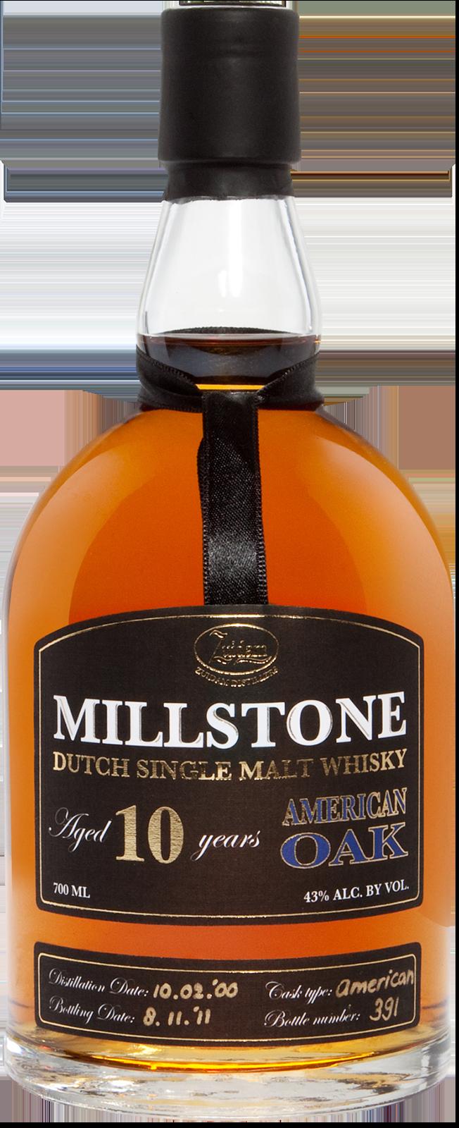 NV-Millstone Dutch Whisky 10 Years American Oak