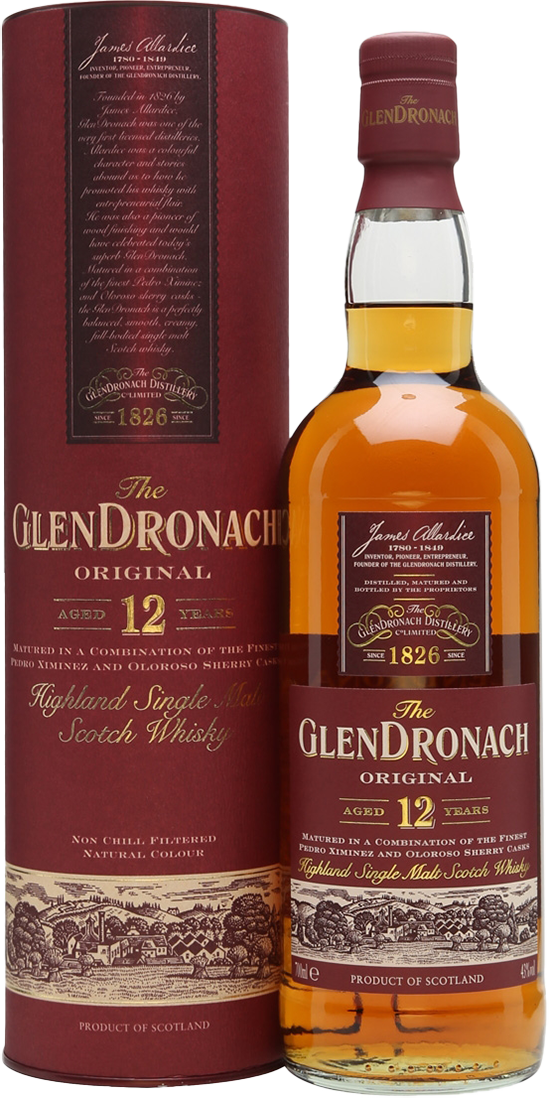 NV-The Glendronach Whisky 12 Years