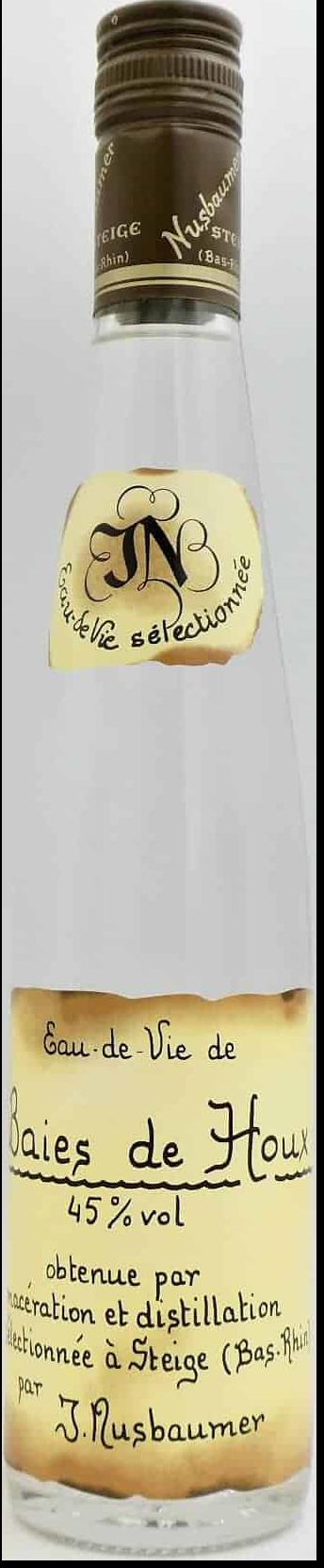 NV-Nusbaumer Eau de Vie Baies de Houx Halve Fles
