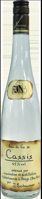 NV-Nusbaumer Eau de Vie Cassis Halve Fles