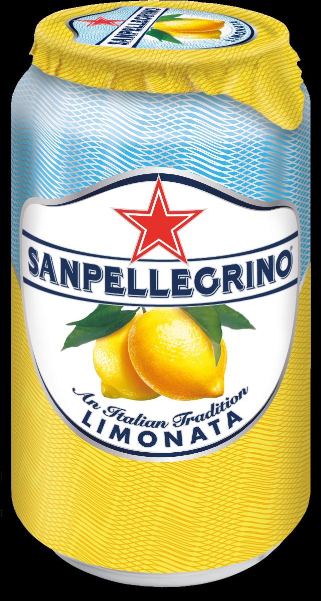 NV-San Pellegrino Limonata Blik 0,33 cl (los)