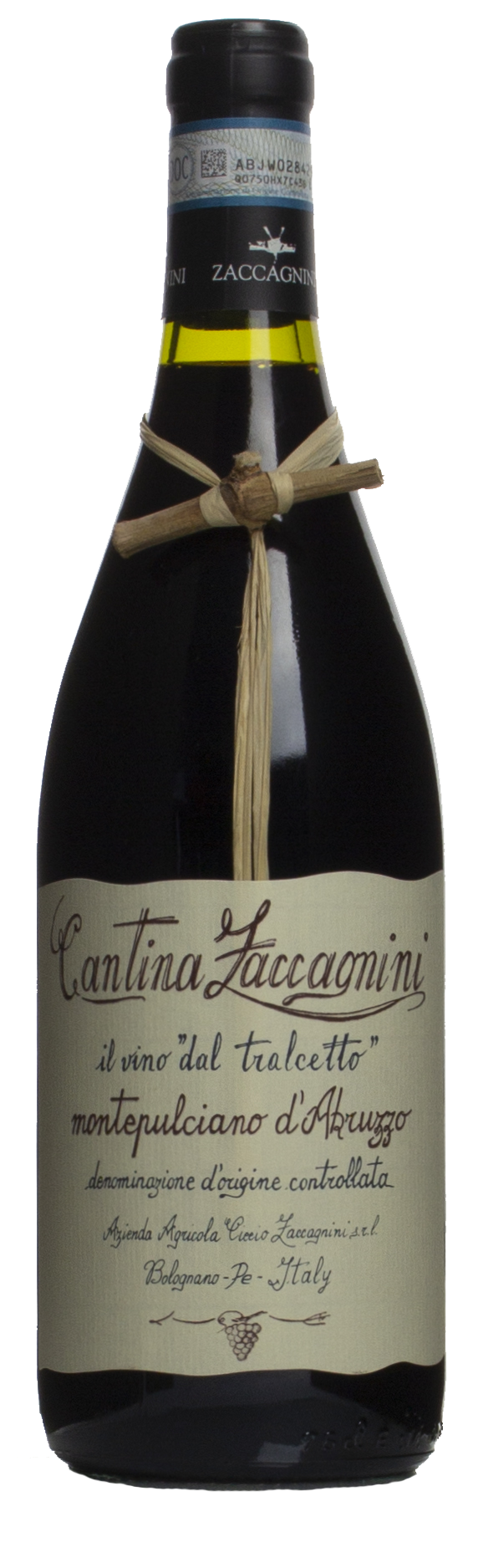 2018-Zaccagnini Montepulciano d'Abruzzo Rosso